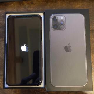 Apple - iPhone 11 Pro スペースグレイ 512 GB SIMロック解除済
