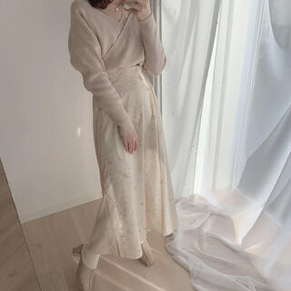 rili ポピー アンニュイスカート(ロングスカート)
