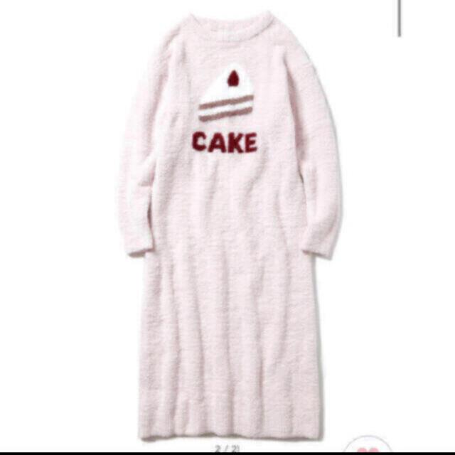 gelato pique(ジェラートピケ)のジェラートピケ☆パウダーデザートワンポイントドレス ショートケーキ レディースのルームウェア/パジャマ(ルームウェア)の商品写真