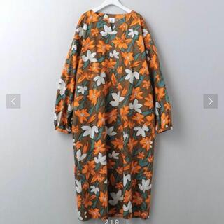 BEAUTY&YOUTH UNITED ARROWS - <6(ROKU)>FLOWER PRINT DRESS/ワンピース