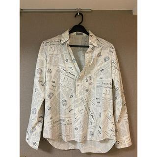 Christian Dior - DIOR 総柄 ロゴシャツ