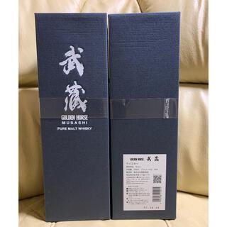 ゴールデンホース 武蔵 700ml  東亜酒造 ウイスキー 2本セット 正規品