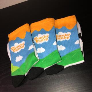 ナイキ(NIKE)のchunky dunky socks NIKE sneakers hiphop(スニーカー)