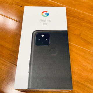 Google - Google Pixel 4a(5G)JustBlack128GB SIMフリー