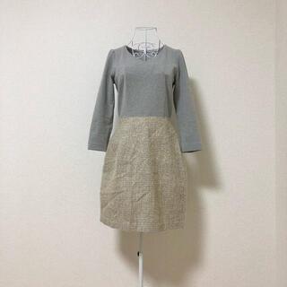 PROPORTION BODY DRESSING - proportion body dressing ドッキング ワンピース S