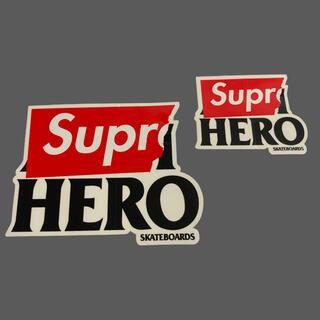 シュプリーム(Supreme)のSupreme ANTIHERO ステッカー 2枚 セット アンタイヒーロー (その他)