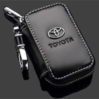 トヨタ スマートキーケース TOYOTA レザーキーケース PUレザー 高品質
