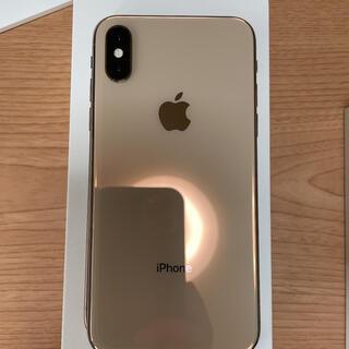 Apple - iPhone Xs Gold 64 GB docomo 美品 完動