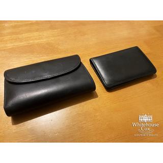 ホワイトハウスコックス(WHITEHOUSE COX)の3/23まで期間限定出品 Whitehouse cox 三つ折財布 カードケース(折り財布)