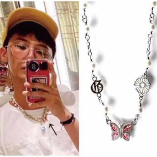 PEACEMINUSONE - ジヨン着用STUGAZI GD butterfly angel necklace