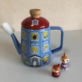 フジホーロー(富士ホーロー)のMOOMIN ムーミンハウス 琺瑯 1.0L ドリップポット 富士ホーロー (調理道具/製菓道具)