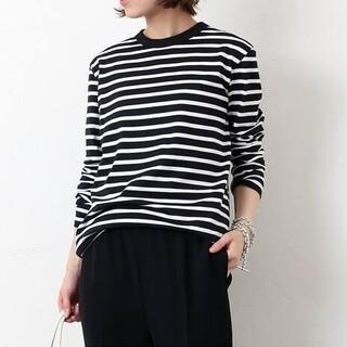 DEUXIEME CLASSE - 新品■Coco Stripe T No5■ブラック■ドゥーズィエムクラス