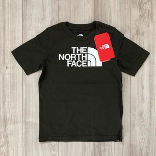 THE NORTH FACE - 【海外限定】TNF ノースフェイス キッズ ロゴTシャツ カーキ 120cm