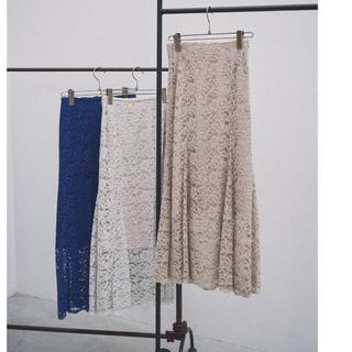 Noble - レースマーメイドスカート ベージュ Mサイズ