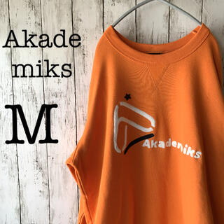 AKADEMIKS - 【Akademiks×新品未使用品】メンズ トップス スウェット ボアロゴ 希少