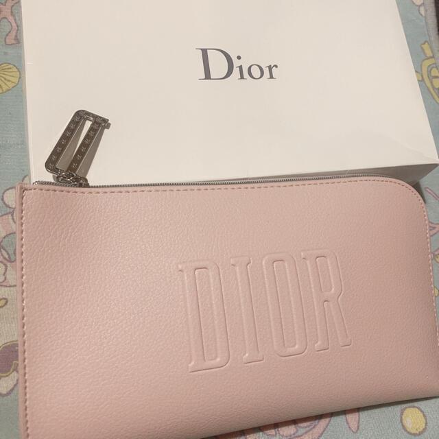 Christian Dior(クリスチャンディオール)のDior ディオール ポーチ ピンク レディースのファッション小物(ポーチ)の商品写真