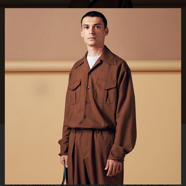 Marni(マルニ)の格安! MARNI 19AW トロピカルウールシャツ 46 メンズのトップス(シャツ)の商品写真