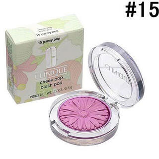 CLINIQUE - ♡新品未使用箱付♡人気カラー♡クリニークチーク♡15 パンジーポップ♡
