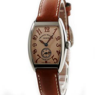 フランクミュラー(FRANCK MULLER)のフランクミュラー  カサブランカ サハラ 1750S6 手巻き レディー(腕時計)