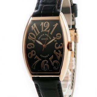 フランクミュラー(FRANCK MULLER)のフランクミュラー  トノーカーベックス サンセット 5850SC 自動巻(腕時計(アナログ))
