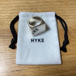 ハイク(HYKE)のHYKE 台座リング シルバー925 (リング(指輪))