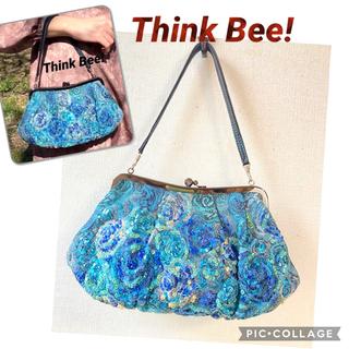 シンクビー(Think Bee!)のシンクビー  Think Bee! がま口式ハンドバッグ #0831(ハンドバッグ)
