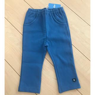 familiar - タグ付き 未使用 ファミリア ロングパンツ ブルー