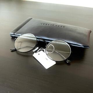 LOWRYS FARM - 伊達メガネ ケース付き ローリーズファーム アソートメガネ 黒 おしゃれ 丸眼鏡