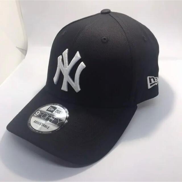 NEW ERA(ニューエラー)のニューエラ キャップ NY ヤンキース 黒 ブラック メンズの帽子(キャップ)の商品写真