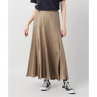Plage - 試着のみ◆Plage Fibril ギャザーロングスカート