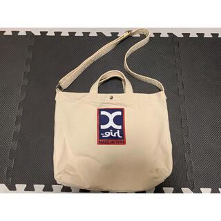 X-girl - 2wayバッグ