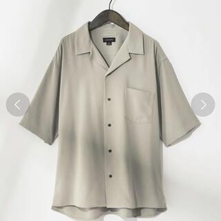 HARE - コンファーム オープンカラーシャツ