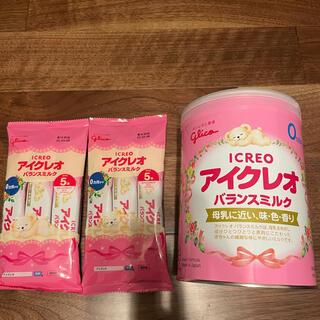グリコ - アイクレオ  バランスミルク 缶 スティック