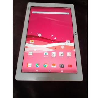 エルジーエレクトロニクス(LG Electronics)のau Qua tab PZ タブレット ピンク(タブレット)