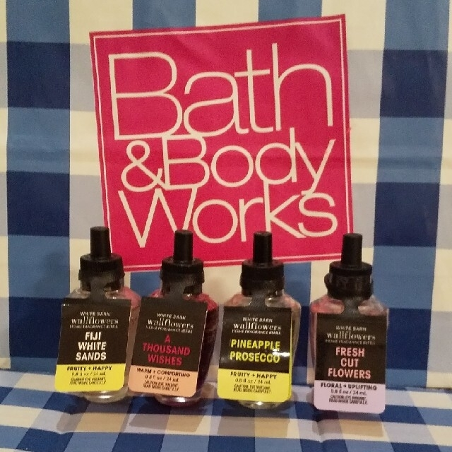 Bath & Body Works(バスアンドボディーワークス)のバスアンドボディワークス ウォールフラワー リフィル コスメ/美容のリラクゼーション(アロマオイル)の商品写真