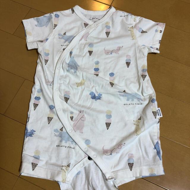 gelato pique(ジェラートピケ)のジェラートピケ ロンパース 80 キッズ/ベビー/マタニティのベビー服(~85cm)(ロンパース)の商品写真