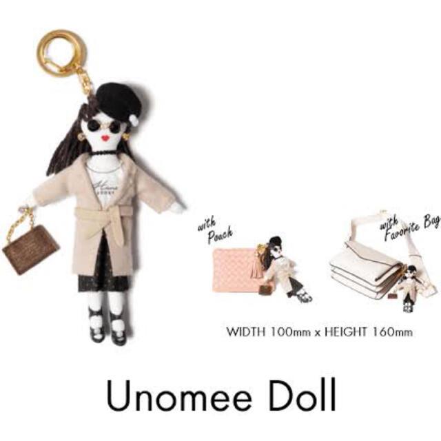 LAYMEE(レイミー)の宇野実彩子 UNOMEEドール LAYMEE 未使用 キーホルダー アジョリー レディースのファッション小物(キーホルダー)の商品写真