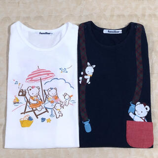 familiar - familiar       半袖Tシャツ 2枚セット size 90cm