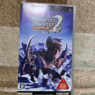 プレイステーションポータブル(PlayStation Portable)のモンスターハンター ポータブル(携帯用ゲームソフト)