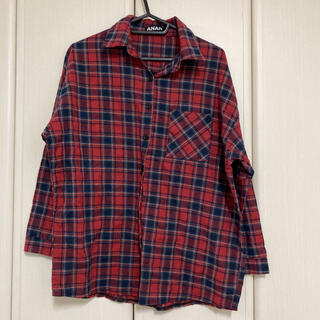 アナップ(ANAP)の【可愛い♡】ANAP♡赤 チェックシャツ(シャツ/ブラウス(長袖/七分))