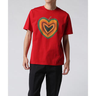 "Paul Smith - ポールスミス ""HEART COLLECTION"" ハート Tシャツ レッド"