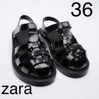 ZARA - ZARA フラットケージサンダル 36