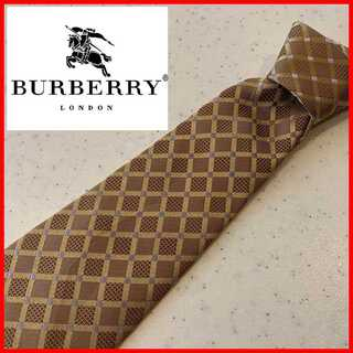 BURBERRY - バーバリー ロンドン Burberry London シルク ネクタイ チェック