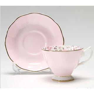 ロイヤルアルバート(ROYAL ALBERT)の新品 ロイヤルアルバートローズコンフェッティ ヴィンテージティーカップ&ソーサー(食器)