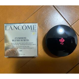 ランコム(LANCOME)のLANCOME ランコム クッション ブラッシュ チーク 023(チーク)