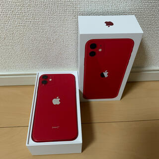 iPhone - iPhone 11 Red SIMフリー