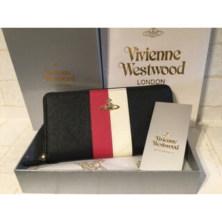 Vivienne Westwood - 新作 新品 Vivienne Westwood 長財布 ヴィヴィアン ストライプ
