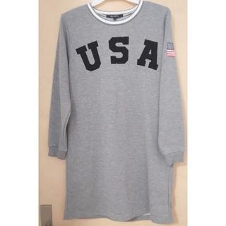 ≪新品≫ USAロゴ ワンピース 150