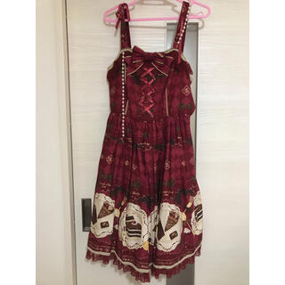 Angelic Pretty - スイーツ柄ジャンパースカート