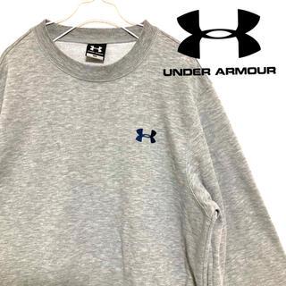 UNDER ARMOUR - 【美品】UNDER ARMOUR スウェット アンダーアーマー 刺繍ロゴ